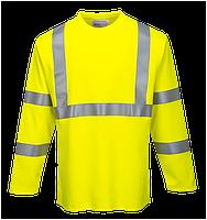 Огнестойкая светоотражающая футболка с длинным рукавом