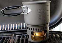 Горелка на сухом спирте Esbit CS985H-EX Cookset With Alcohol Burner ц:серый (12270670), Германия