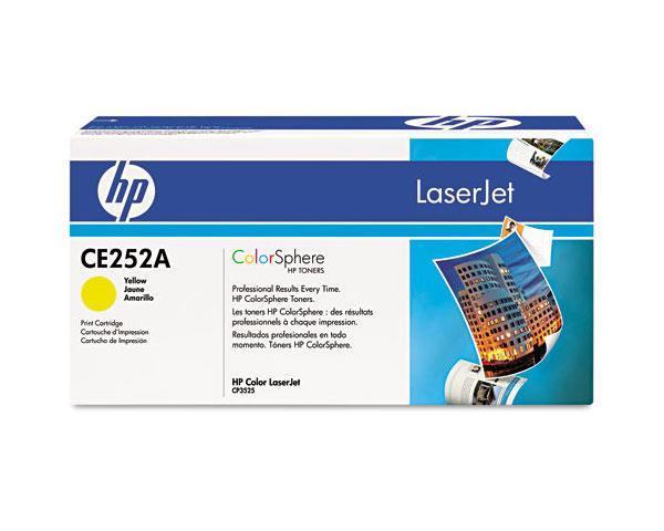 Картридж HP CLJ CM3530/ CP3525 (504A) CE252A Yellow оригинальный