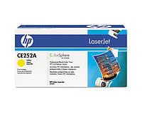 Картридж HP CLJ CM3530/ CP3525 (504A) CE252A Yellow оригинальный, фото 1