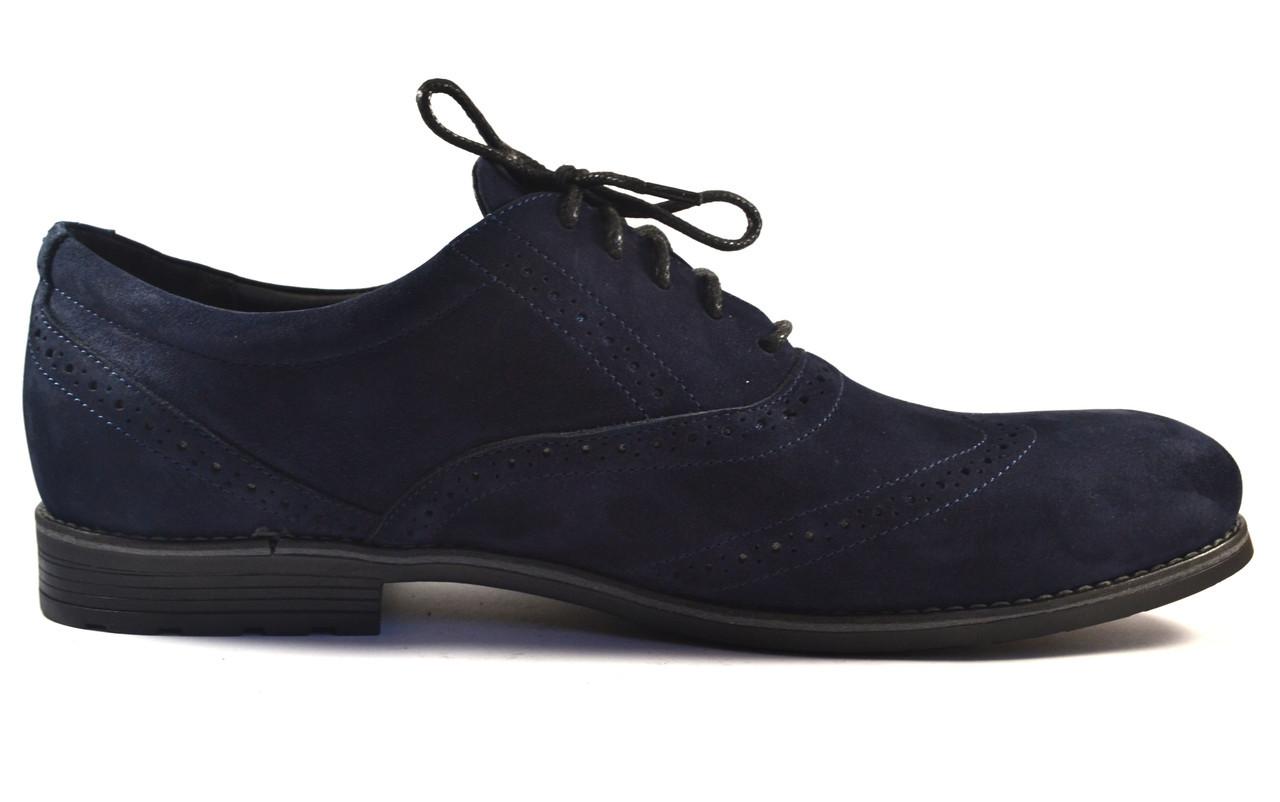 Rosso Avangard BS Felicete Persona Nub Blu туфли броги синий нубук мужская большая обувь 50 размер