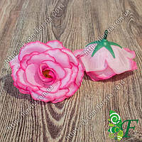 Головка чайной розы малиновый