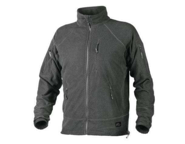 Кофта Helikon Alpha Tactical Grid Fleece Jacket Shadow Grey regular 3XL (BL-ALT-FG-35), Польша