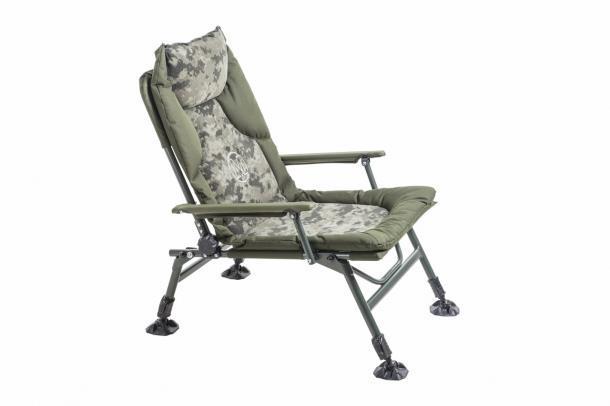 Кресло карповое Mivardi Chair CamoCODE Arm  (M-CHCCA) 130 кг Чехия