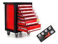 Профессиональный шкаф с инструментами Tagred 220 шт + YATO подарок