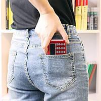 Мини радиоприемник PRUNUS L-218AM FM/AM, MP3, MicroSD, USB, фонарик, красный, фото 1