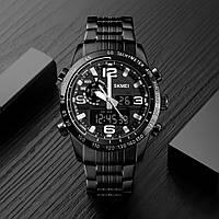 Skmei 1453 afrika черные мужские наручные часы