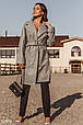 Пальто-oversize серого цвета, фото 2