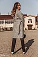 Пальто-oversize серого цвета, фото 4
