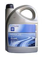 Моторное масло GM 5w30, 5л