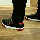 Школьные туфли-кеды мальчикам, р. 34 (22 см), фото 3