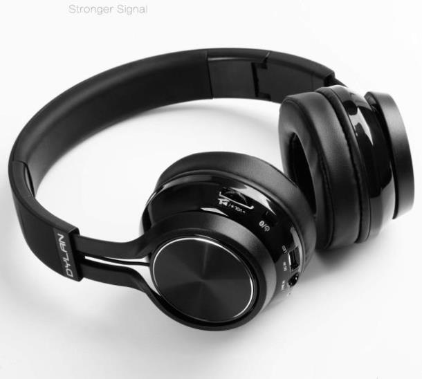 Стерео гарнитура HiFi  Dylan Bluetooth складные BLACK
