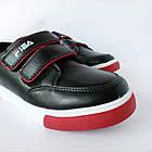 Школьные туфли-кеды мальчикам, р. 34 (22 см), фото 8