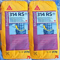 SikaGrout®-314 RS - Подливочный раствор для бетонных, каменных, стальных элементов и анкеров, 25 кг