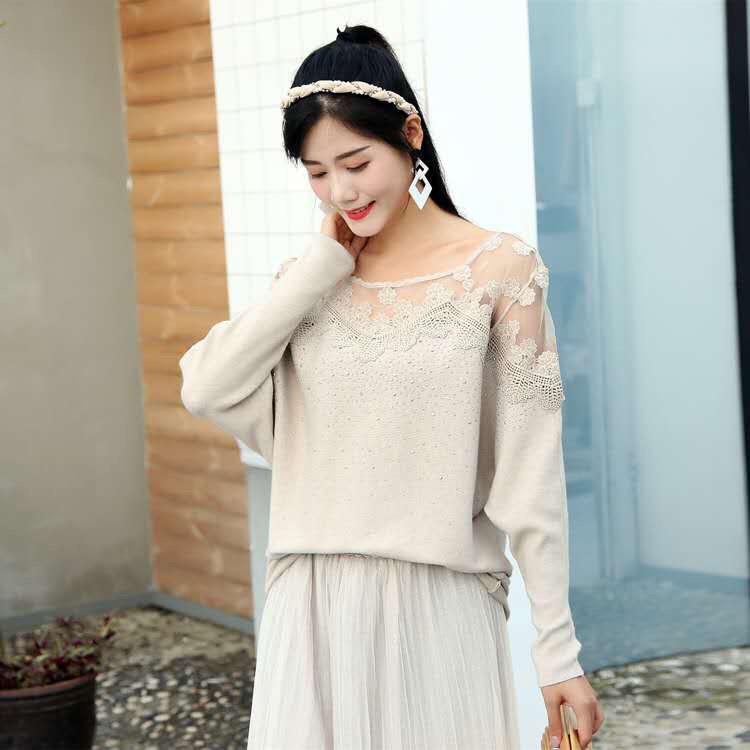 Женственный нарядный свитер 48-52 (в расцветках)