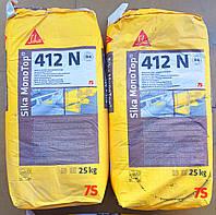 Sika® MonoTop®-412N RS - Ремонтний розчин для структурного ремонту, 25 кг