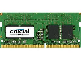 Оперативна пам'ять для ноутбука Crucial SODIMM DDR4, 16Gb, 2400MHz, CL17 (CT16G4SFD824A)