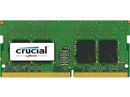 Оперативная память для ноутбука Crucial SODIMM DDR4, 16Gb, 2400MHz, CL17 (CT16G4SFD824A)
