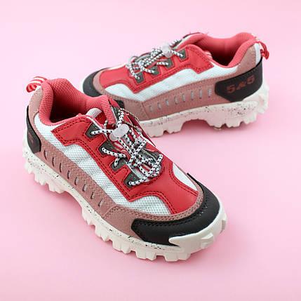 Детские кроссовки для девочки Пудра обувь Bi&Ki размер 29,30,33, фото 2