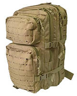 Рюкзак MIL-TEC ASSAULT BACKPACK 36л койот перфорация (14002705), Германия, фото 1
