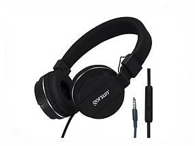Наушники GORSUN GS-779 (с микрофоном, мониторы) Black