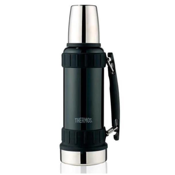Термос с ручкой Thermos 1.2 л Work liter svart 180010 чёрный