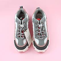 Детские кроссовки для девочки Пудра/серый обувь Bi&Ki размер 28,29,32,33,34,35, фото 3