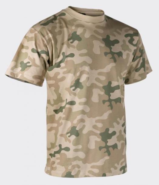 Футболка Helikon-Tex® T-Shirt - PL Desert M (TS-TSH-CO-06 M)