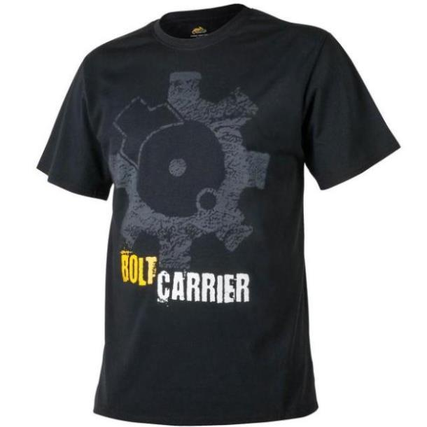 Футболка Helikon-Tex® T-Shirt Print Bolt Carrier - Черная XXXL (TS-BCR-CO-01 XXXL), Польша