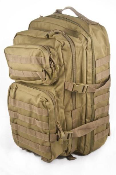 Штурмовой (тактический) рюкзак ASSAULT L Mil-Tec by Sturm Coyote 36 л. (14002205)