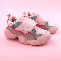 Детские кроссовки для девочки Розовые обувь Bi&Ki размер 29,30,32, фото 2