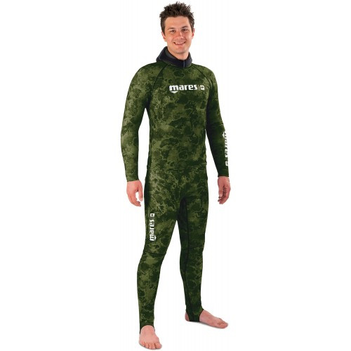 Кофта-штаны Mares Rash Guard Camo Green
