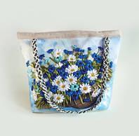 Набор для творчества My creative bag Сумка, вышитая лентами и бисером Полевые Цветы