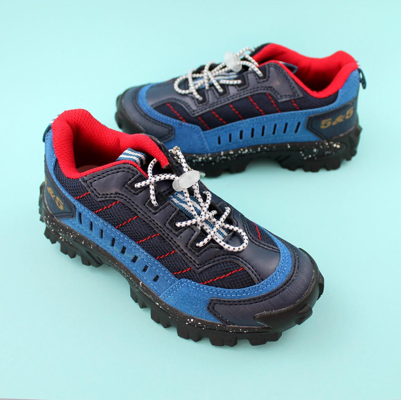 Детские кроссовки для мальчика Синие обувь Bi&Ki размер 30,31,32,34,35
