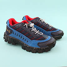 Детские кроссовки для мальчика Синие обувь Bi&Ki размер 34, фото 3