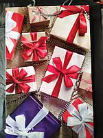 Пакет подарочный бумажный большой вертикальный 25х39х9