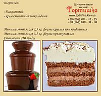 Торт №8, Шоколадный торт