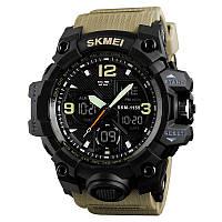 Skmei 1155 B HAMLET хаки мужские спортивные часы