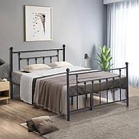 Двуспальная металлическая кровать Santi