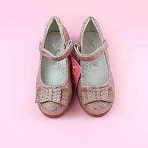 Детские туфли для девочки Пудра обувь Том.м размер 31,32,33,34,35, фото 3
