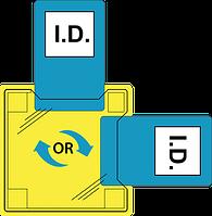 Двойной ID держатель - горячий способ крепления ID30