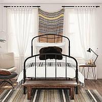Односпальная металлическая кровать Faust