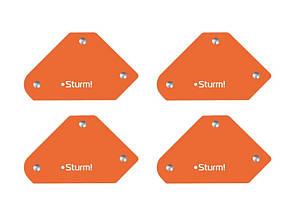 Магнитный угольник для сварки Sturm AWM-45, 4x5 кг