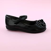 Детские туфли для девочки Черные обувь Том.м размер 28,29,30,32,33,34,35, фото 3