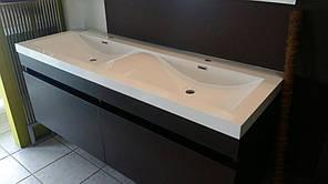 Умывальник для мебели CASANDRA, 144x51x13,5 см|Умивальник для меблів CASANDRA, 144x51x13,5 см