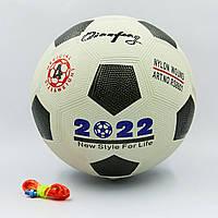 Мяч резиновый Футбольный №4 XK4280-01 WORD CUP 2022 (резина, вес-280г, цвета в ассортименте)