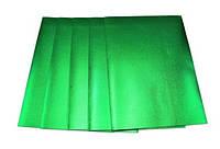 Фоамиран A4 метализированый MT-EVA-022, 21х29,7см толщина 1,8мм 5листов Зеленый Fresh