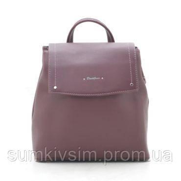 Рюкзак женский бордового цвета DAVID JONES 6124-2