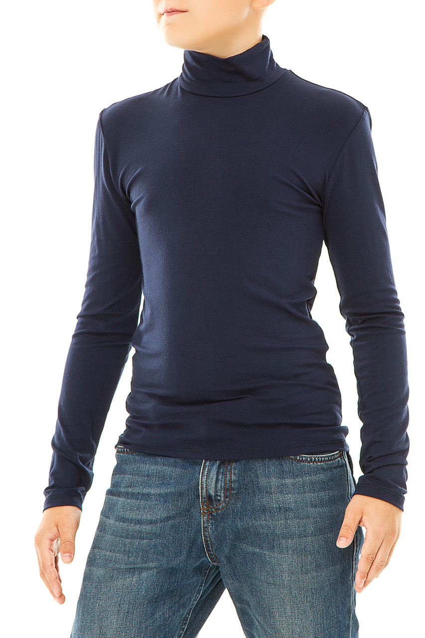 Водолазка  024 подростковый  темно-синий