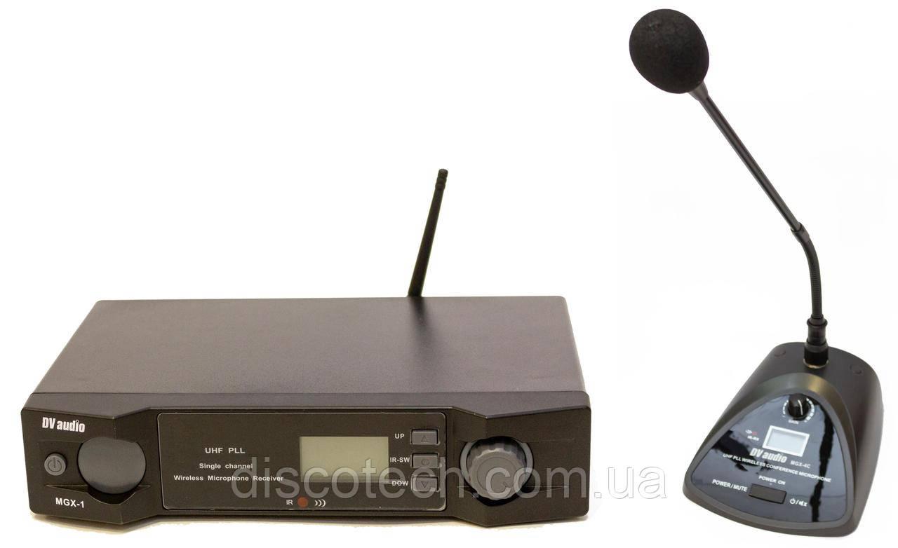 Радиосистема с одним конференц микрофоном, UHF